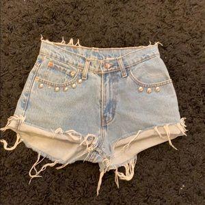 Vintage JORDACHE Jean Shorts size Small